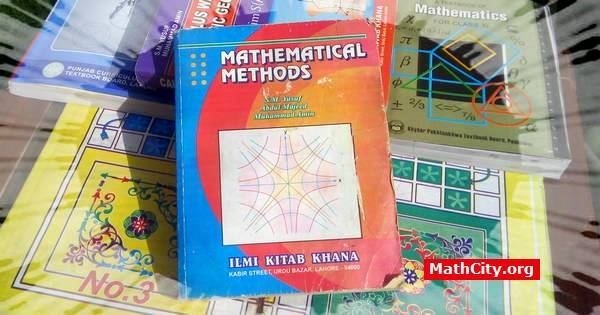 Notes of Mathematical Method [MathCity org]