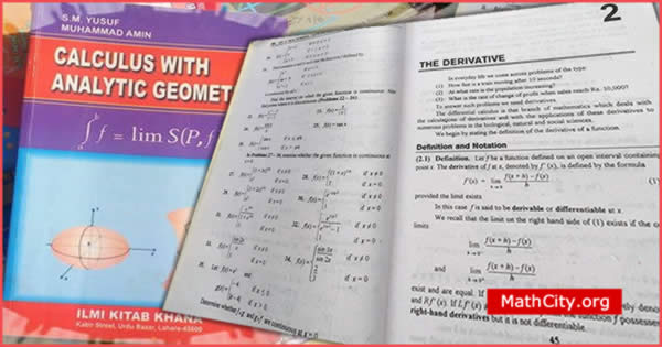 Chapter 02: The Derivative BSc Calculus