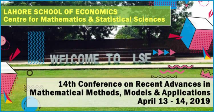 Recent Advances in Mathematical Methods, Models & Applications, LSC