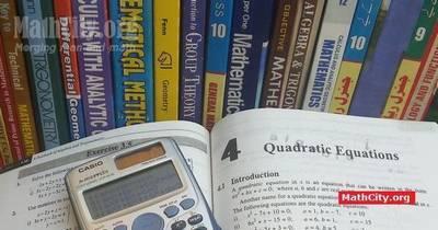 Chapter 04: Quadratic Equations [MathCity org]