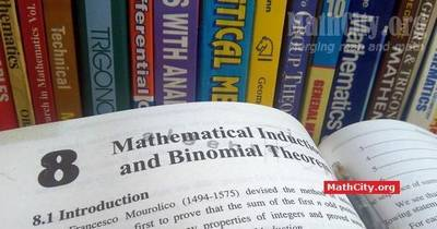 Chapter 08: Mathematical Induction and Binomial Theorem [MathCity org]