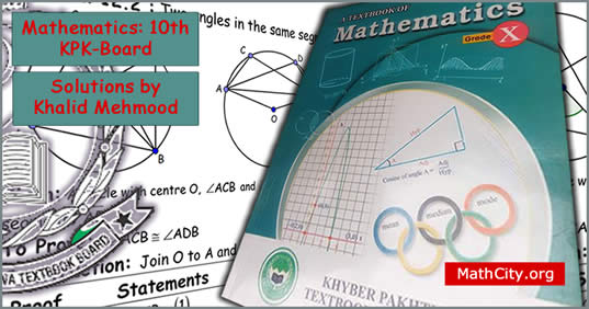 Mathematics 10th KPK Board